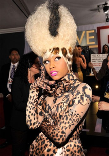 nicki minaj dressed as boy. My vote goes to Nicki Minaj.