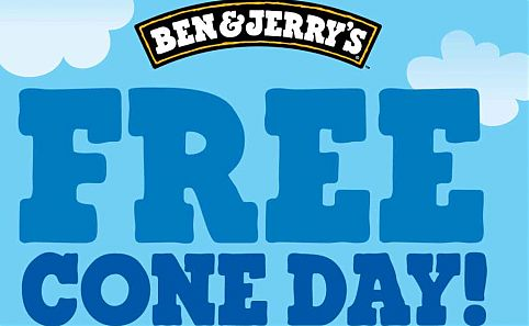 Ben and Jerry's Canada: Free Cone Day *April 12* Canada