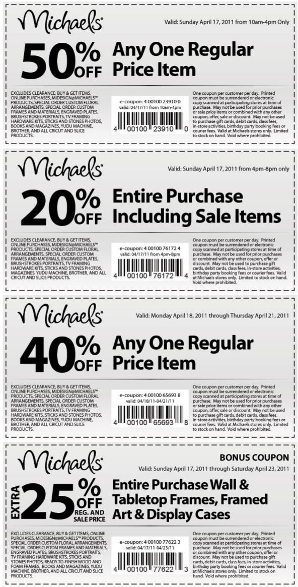 Michaels crafts coupons printable canada : Freebies assalamualaikum cute