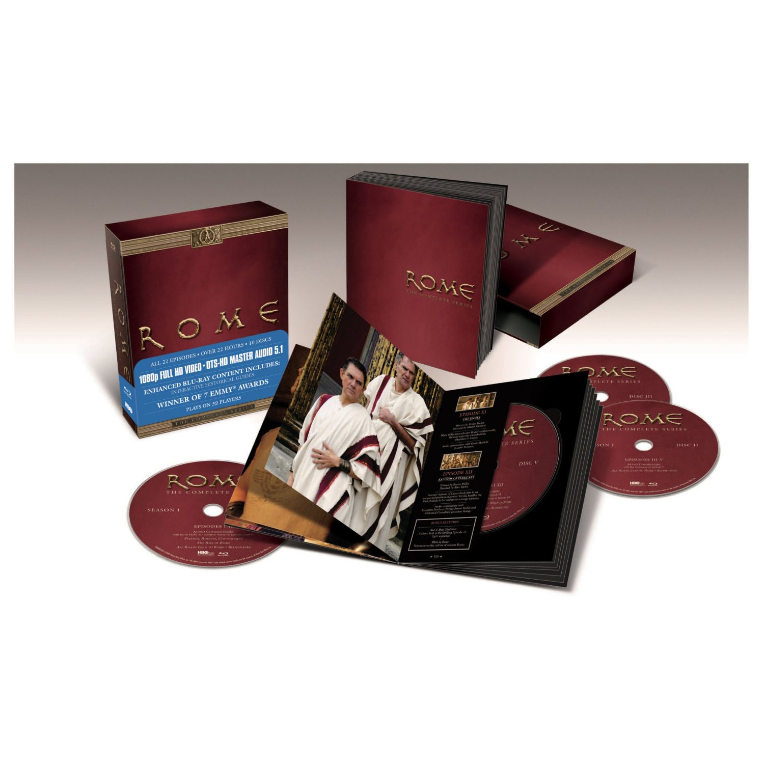 Amazon Canada Rome The Complete Series $74.99 Today Only ...