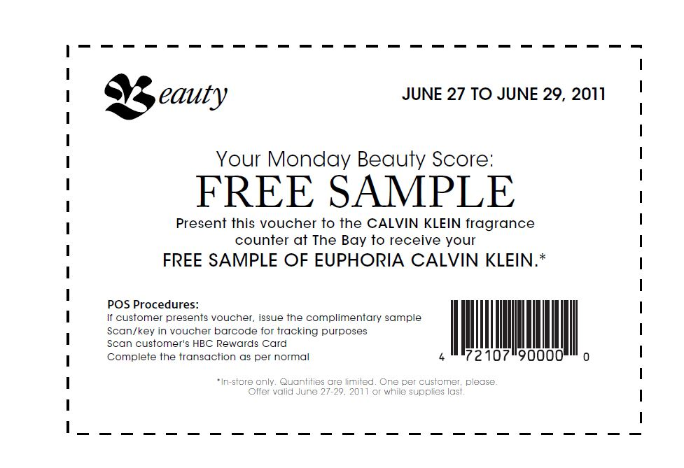 Free coupons and samples by mail canada