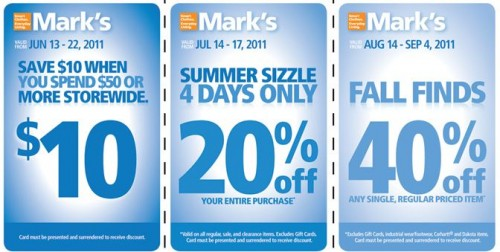 Marks work warehouse online coupon 2018