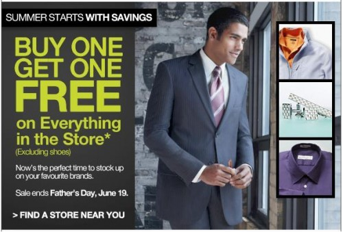 Moores clothing store sales