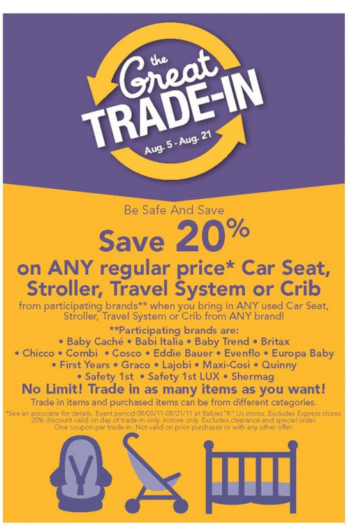babies r us canada save 20 off select items with trade in canadian freebies coupons deals. Black Bedroom Furniture Sets. Home Design Ideas