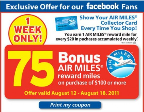 Free coupons ontario canada