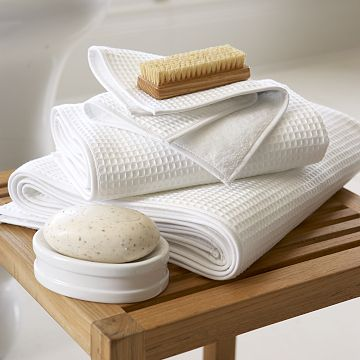 Cotton Craft - 4 Pack Euro Spa Waffle Weave Oversized Bath Towels 30x56 - White - % Pure Ringspun Combed Cotton - True Luxury Inspired by The Finest European Spas and Resorts. by Cotton Craft. $ $ 27 99 Prime. FREE Shipping on eligible orders. out of 5 stars