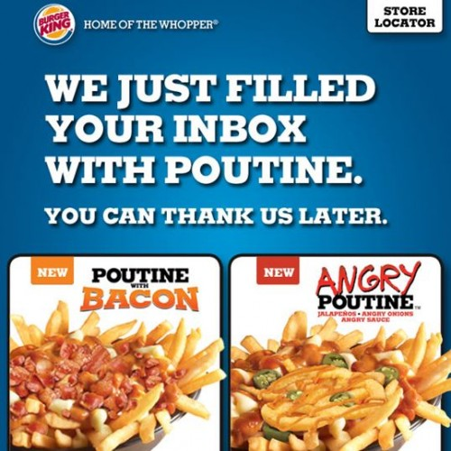 Burger King Canada: 2 New Poutines — Canadian Freebies, Coupons ...