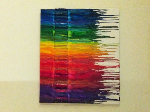 In A Recent Blog Post I Featured Some Crayon Art That Caught Few Peoples Attention My Boyfriend And Were Inspired By This Creative Idea Decided