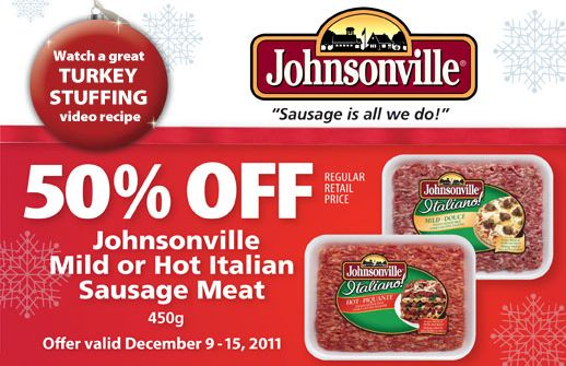 johnsonville sausage coupon