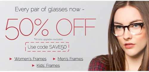 Clearlycontacts Ca 50 Off Glasses Til January 22nd