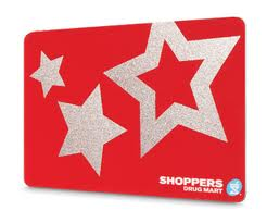 the bay gift card shoppers drug mart