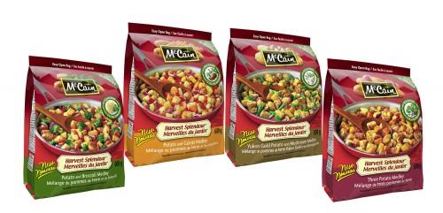 MCCAIN FOODS (CANADA) - New potato medleys