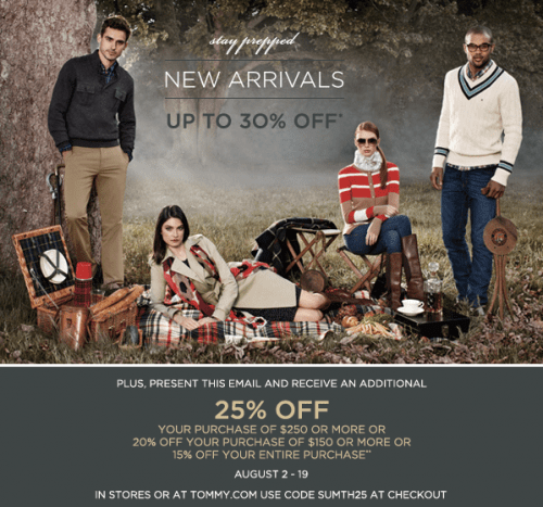 photograph regarding Tommy Hilfiger Outlet Coupon Printable named Tommy hilfiger canada coupon codes / Dining places around lodge