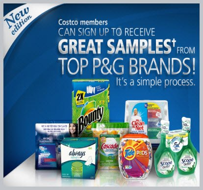 Procter and gamble free samples canada olg slots barrie