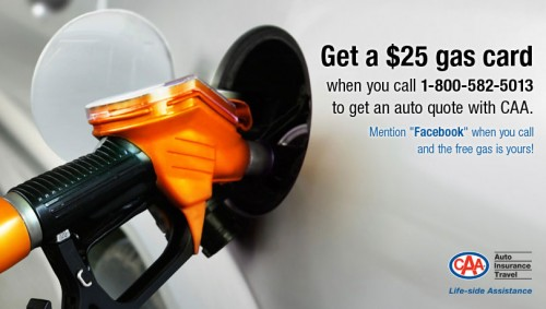 Caa Home Insurance Quote: $25 Gas Card With No-Obligation Quote For CAA Auto