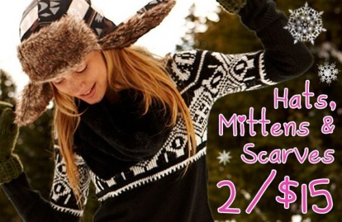 Ardene 2 15 Hats Mittens Amp Scarves Canadian Freebies