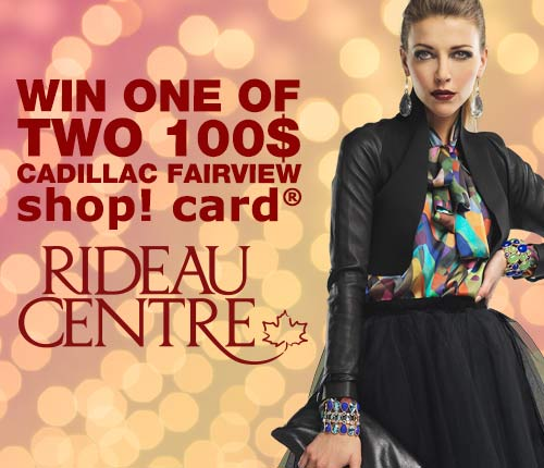 Ottawa Residents: Enter To Win One of Two 100$ Gift Certificates at ...