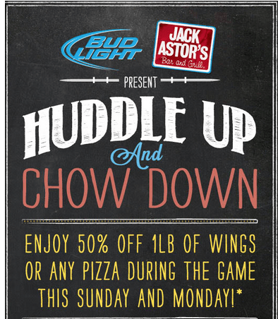 Jack astor's coupons canada