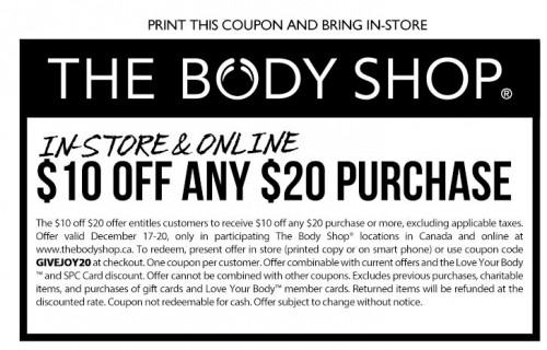 Nov 26,  · Print this email or provide on mobile phone at a U.S. Bath & Body Works store at time of purchase. Limit one per customer. Online: To redeem online, add the qualifying amount of merchandise shown above to your shopping bag, enter promotion code LETITSNOW during checkout, and order total will be adjusted.