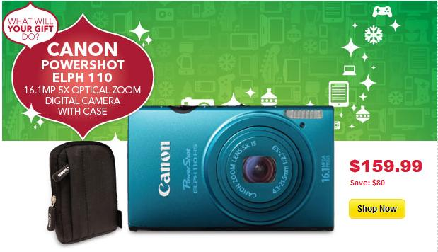 Canon camera deals canada