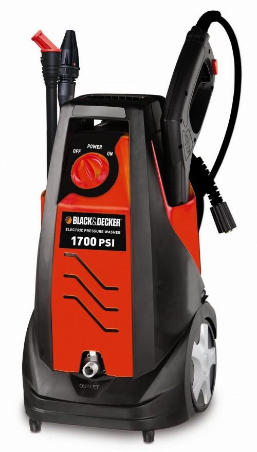 Black Amp Decker 1700psi Electric Pressure Washer 98 At