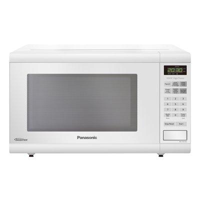 Countertop Microwave Oven Costco : Canada: Panasonic NNST651W 1.2 cu ft 1200-Watt Countertop Microwave ...