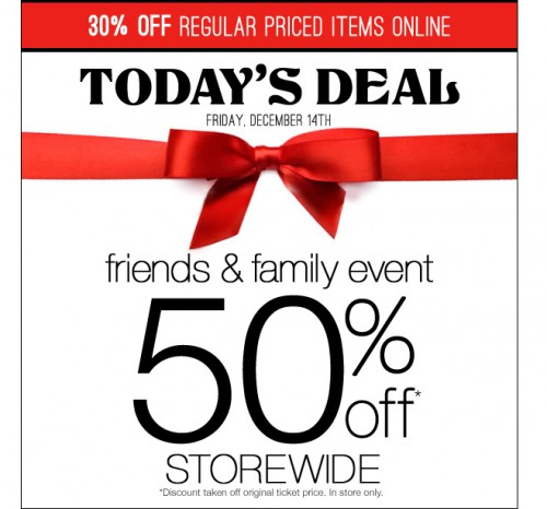 Northern Reflections Canada Daily Deal: 50% Off Storewide, Friends ...