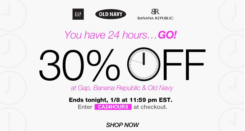 Gap and old navy coupons