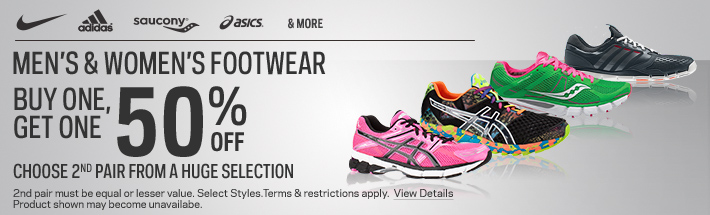 """e8f95d12e6f60 2 responses to """"SportChek Buy One Get One 50% Off Footwear"""""""