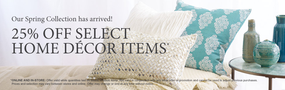 25 select home decor items from chapters indigo