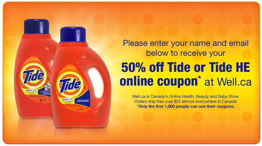 Well.ca coupon