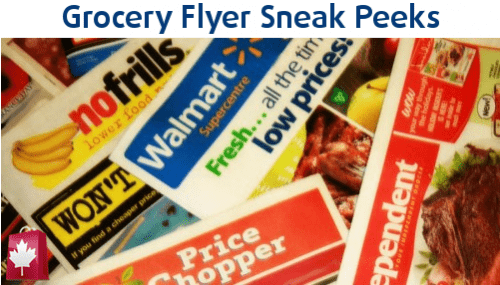 Ontario Grocery Flyer Sneak Peeks August 8-15 | Canadian Freebies ...