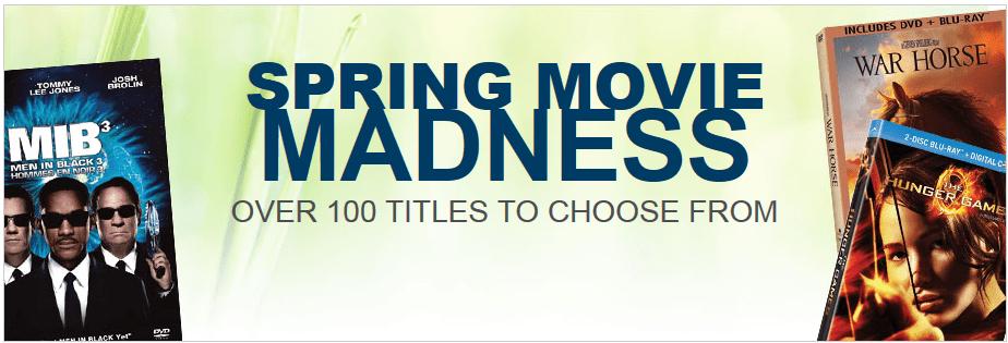 Best Buy Spring Movies