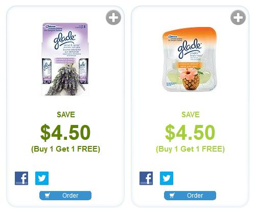 Glade coupons canada 2019