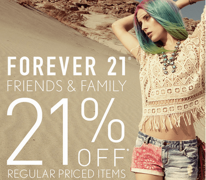 Forever 21 new sale