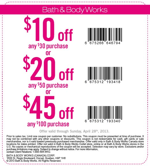 Manufacturer coupons canada