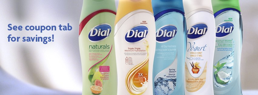 photograph about Dial Printable Coupon identify Canadian Discount coupons: Help save $1 upon Dial Entire body Clean *Printable