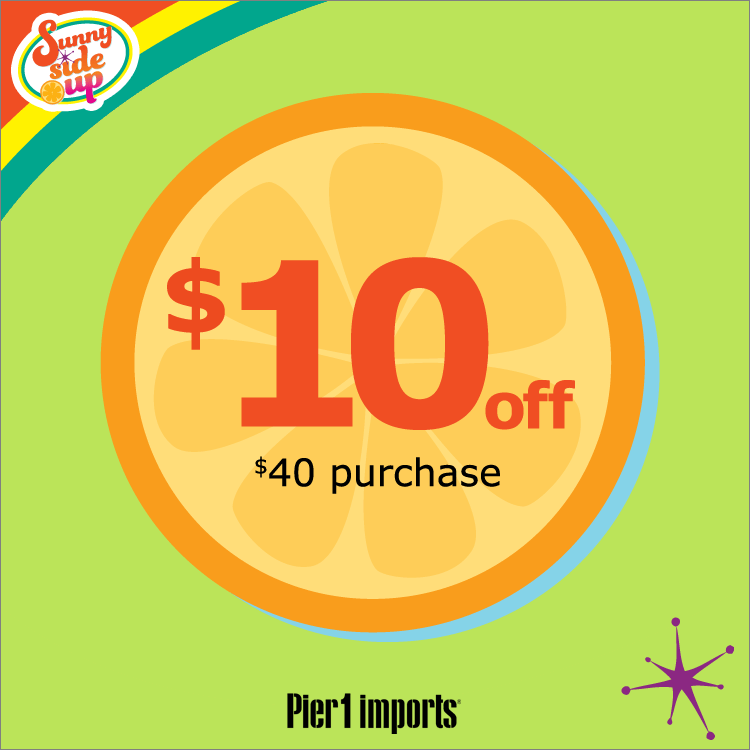 It's just a graphic of Dynamite Pier One Coupon Printable