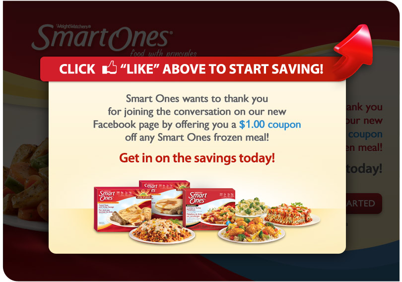 Weight watchers smart ones coupons