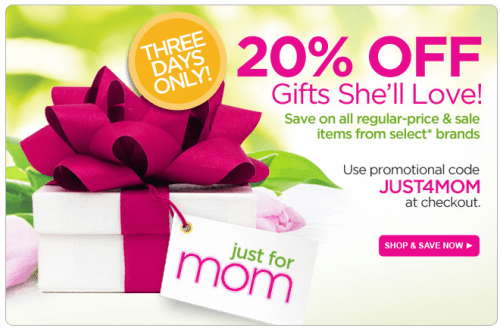Save 20% On Mother's Day Gifts At The Shopping Channel ...
