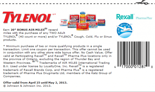 Coupons For Tylenol Cold Medicine Proderma Light Coupon Code