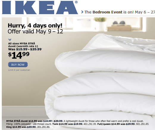 ikea canada bedroom event all sizes mysa str duvet for canadian freebies coupons. Black Bedroom Furniture Sets. Home Design Ideas