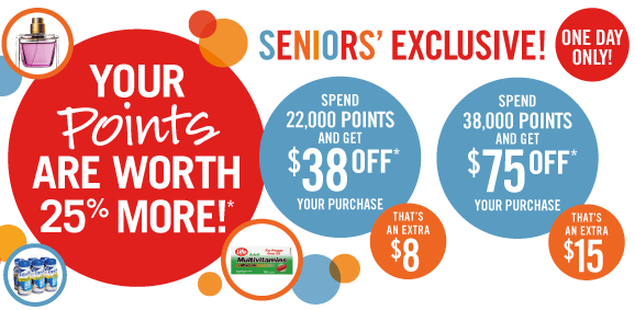 Shoppers Drug Mart Seniors' Exclusive!