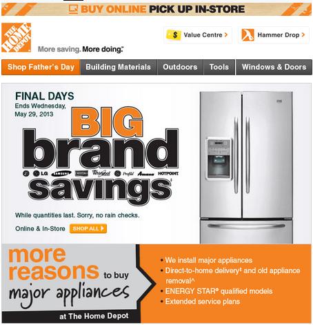 0435188a14c Krupuk Home Designs  The Home Depot Big Brand Savings Canadian ...