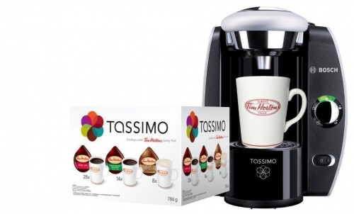 tim hortons free tassimo machine with 40 variety pack purchase today ca. Black Bedroom Furniture Sets. Home Design Ideas