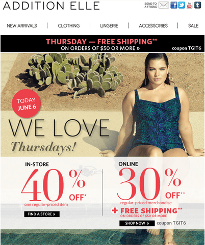 Thursday love coupons