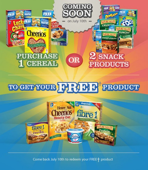 Cheerios coupons canada 2019
