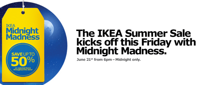 IKEA Summer Sale