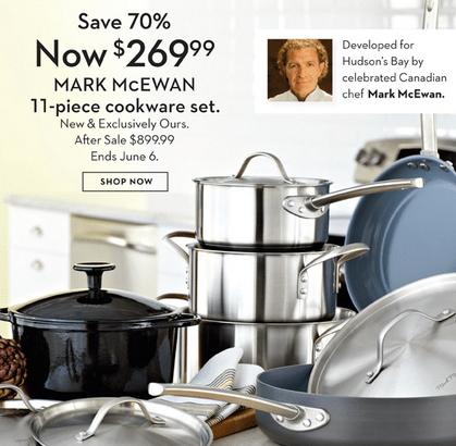 Mark McEwan Cookware Set Offer
