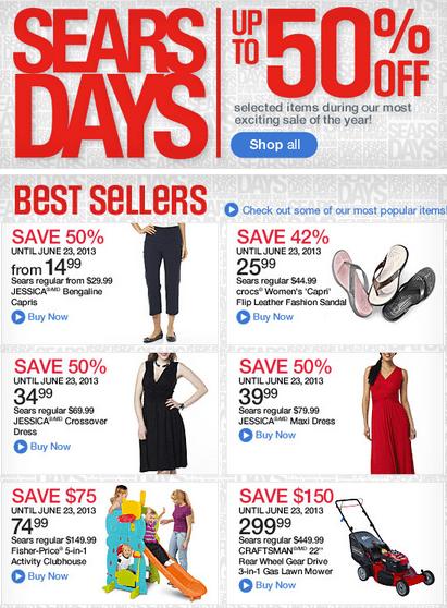 Sears Days